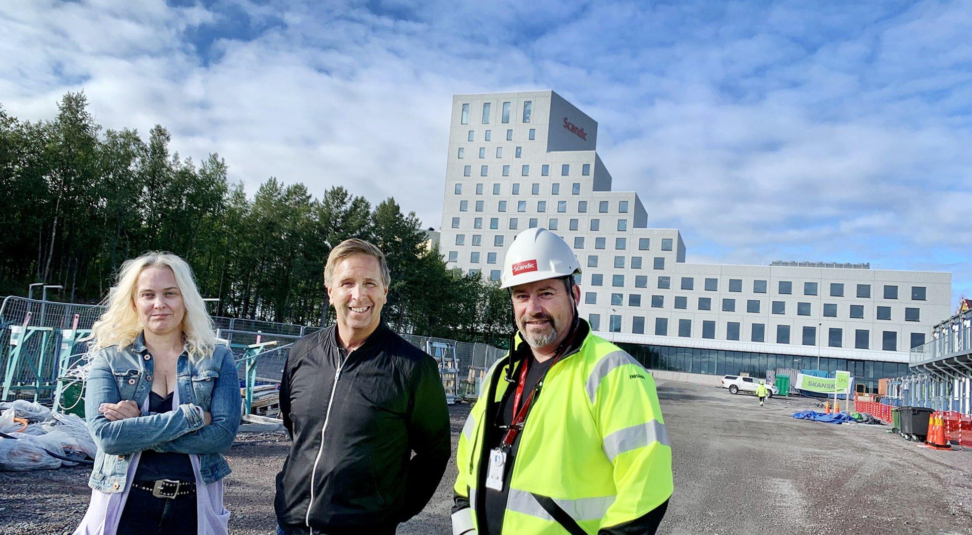 Johanna Ögren, Peter Samuelsson och Patrik Karlsson. Foto: